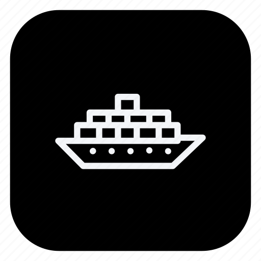 automation, boat, car, ship, transport, transportation, vehicle icon