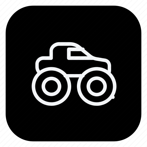 automation, car, monster car, monster truck, transport, transportation, vehicle icon