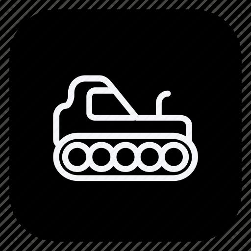 automation, car, crane, excavator, transport, transportation, vehicle icon