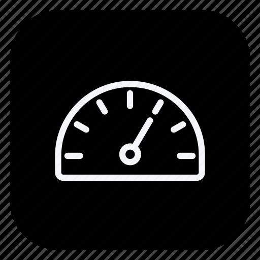 auto, car, dashboard, speedometer, transport, transportation, vehicle icon