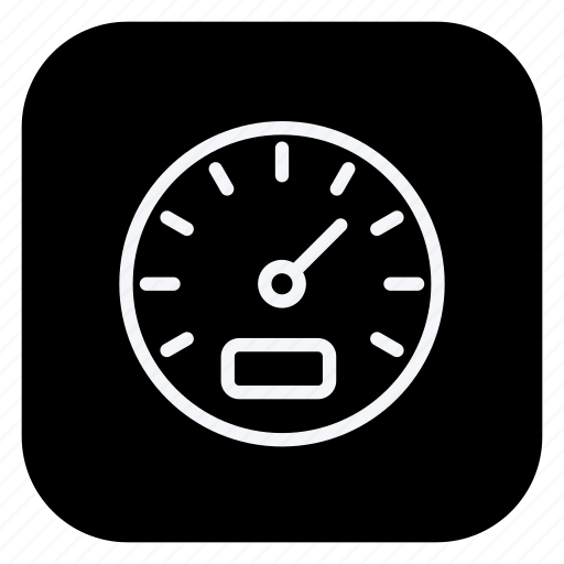 automation, car, dashboard, speedometer, transport, transportation, vehicle icon