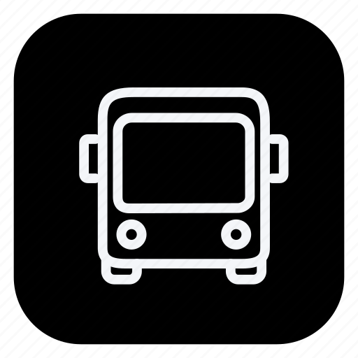 bus, car, train, transport, transportation, van, vehicle icon