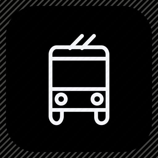 bus, car, train, transport, truck, van, vehicle icon