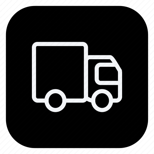 car, delivery truck, transport, transportation, truck, van, vehicle icon