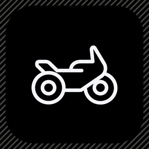 auto, automation, car, motorbike, transport, transportation, vehicle icon