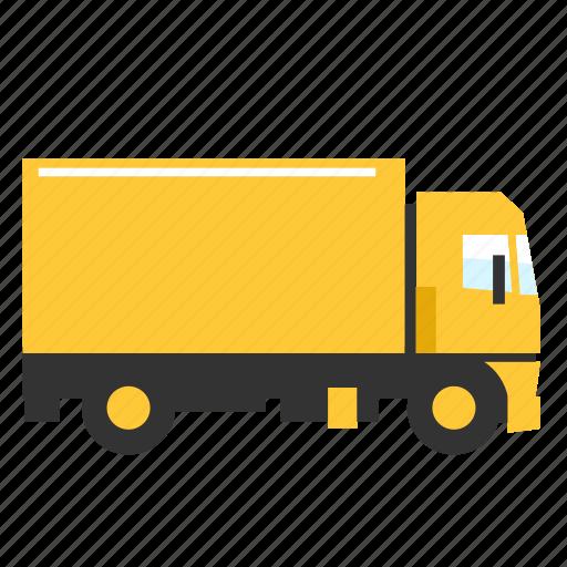 cargo, medium, road, transport, truck icon