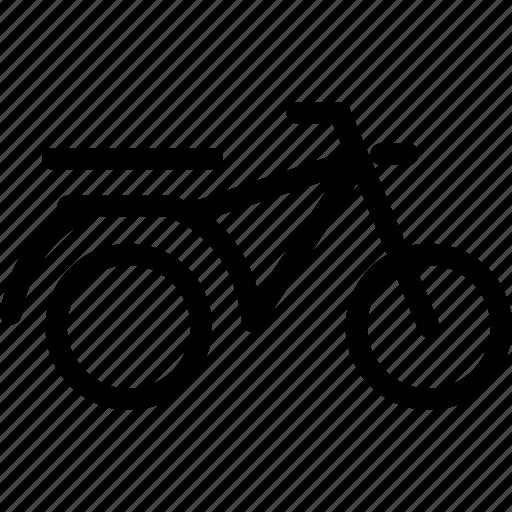 bike, dirt bike, motorbike, motorcycle, scooter, scrambler, trail bike icon