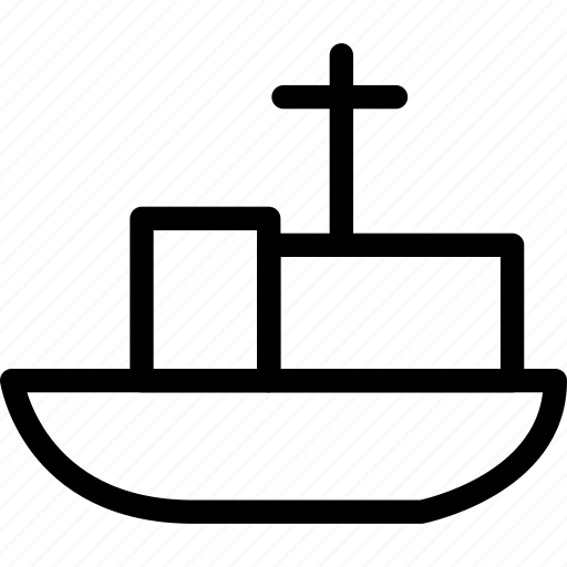 boat, merchant ship, sailboat, ship, vessel, watercraft icon