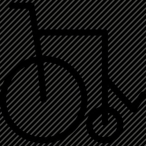 chair, disability, disable, wheelbench, wheelchair icon