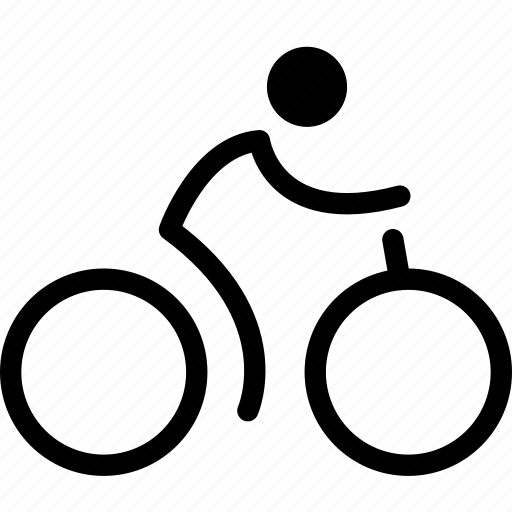bicycle, bicycle rider, bicycle riding, bike, cycle, cycling, pedal bike icon