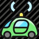 signal, auto, pilot, car