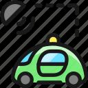 auto, pilot, car, signal