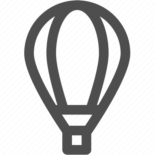 air, baloon, flight, fly, transport, transportation icon