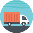 delivery trucks, small delivery, transport truck, transportation truck icon