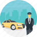 cab driver, cab service, driving service, exclusive cab service, vip cab service icon