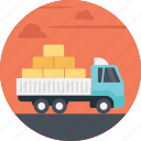 cargo delivery, cargo truck, delivery truck, freight delivery truck, freight truck icon