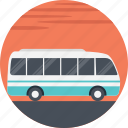 public transport, blue mini bus, mini bus, public service, transportation services icon