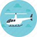 air route, air support, air transport, airbourne, helicopter icon