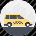 cab driver, cab service, public transport, taxi cab, transport service icon