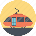 cable cart, delivery, moving cart, tram, transportation icon