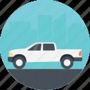 traveling car, public service, safe drive, amusement park vehicle, safari travel car icon