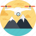 air shipment, delivering cargo, delivery by drone, drone delivery, special shipment icon