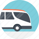 bus service, public bus, public service bus, public transport service, transportation services icon