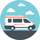 emergency transport, ambulance, public service transport, emergency vehicle, medical emergency icon