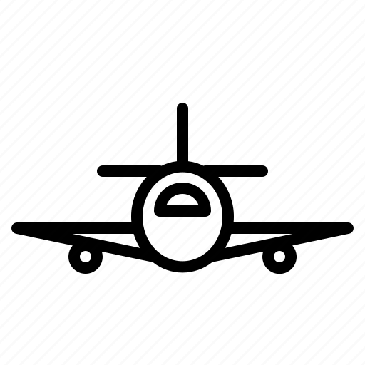 air, aircraft, airplane, fly, plane, transportation, travel icon