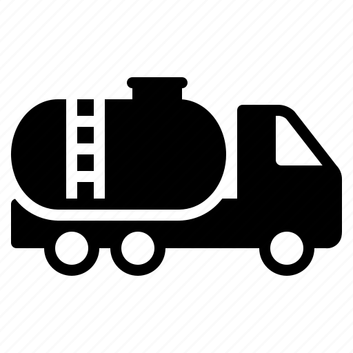 fuel, oil, petrol, transport, transportation, truck, vehicle icon