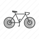 bicycle, bike, sport, transportation, travel, vacation, vehicle icon