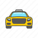 car, service, taxi, transport, transportation, travel, vehicle icon