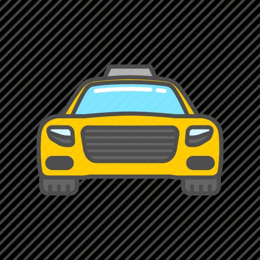 car, service, taxi, transport, transportation, travel, vehicle icon