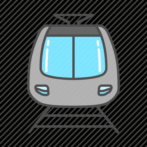 bullet train, railway, tourism, train, tram, transportation, travel icon