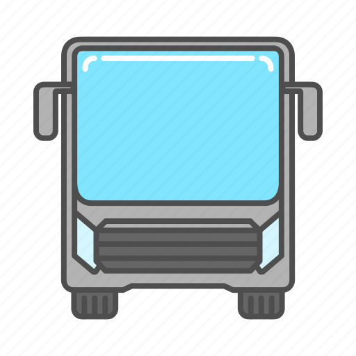 automobile, bus, tourism, transport, transportation, travel, vehicle icon