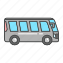 auto, bus, tourism, transportation, travel, van, vehicle icon