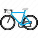 bicycle, bike, cycle, transport, transportation, vehicle icon