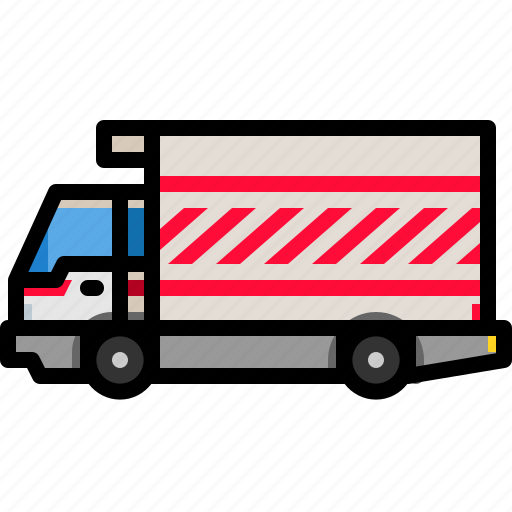 car, cargo, delivery, shipping, transportation, truck, vehicle icon