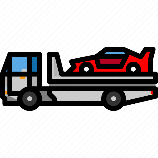 accident, slidecar, transport, transportation, vehicle icon