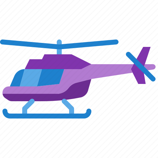 aircraft, flight, helicopter, transport, transportation icon