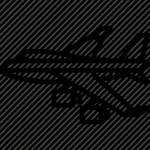 aircraft, airplane, airport, jet, plane, transport, transportation icon