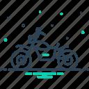 bike, motorbike, motorcycle, transportation, wheel icon