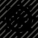 pirate helm, rudder, ship helm, ship wheel, steer wheel, steering icon