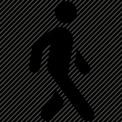 pedestrian, stroll, walk, walker, walking icon