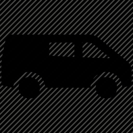 car, minibus, minivan, suv, van, vehicle icon