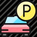 parking, p