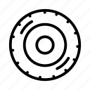 tire, transportation, tyre, vehicle icon