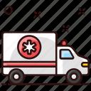 ambulance, ambulance car, emergency vehicle, rescue, siren