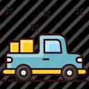 crane, crane truck, pickup, transport, truck, vehicle