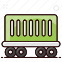 cargo container, logistics container, luggage, luggage container, shipping, transport, vehicle icon